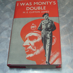 Popular book club  I WAS MONTY'S DOUBLE by M.E. CLIFTON JAMES 1957 hardback book
